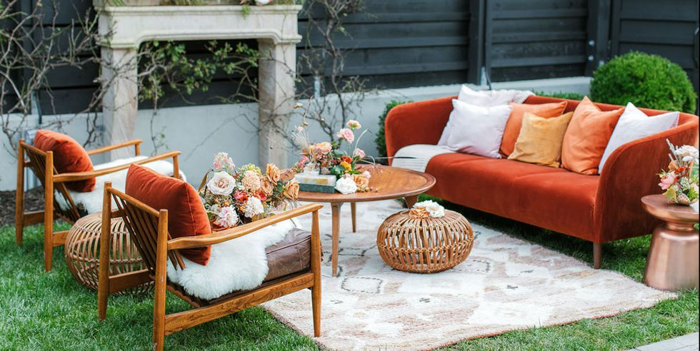 Don't be afraid to use earthy colors! Source: Elle Decor