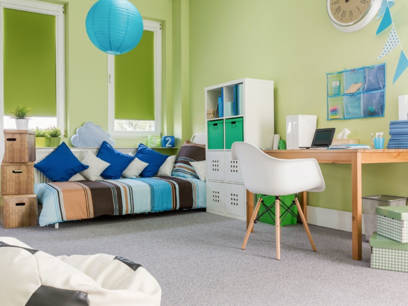 How Your Kids' Room Color Can Affect Their Behavior