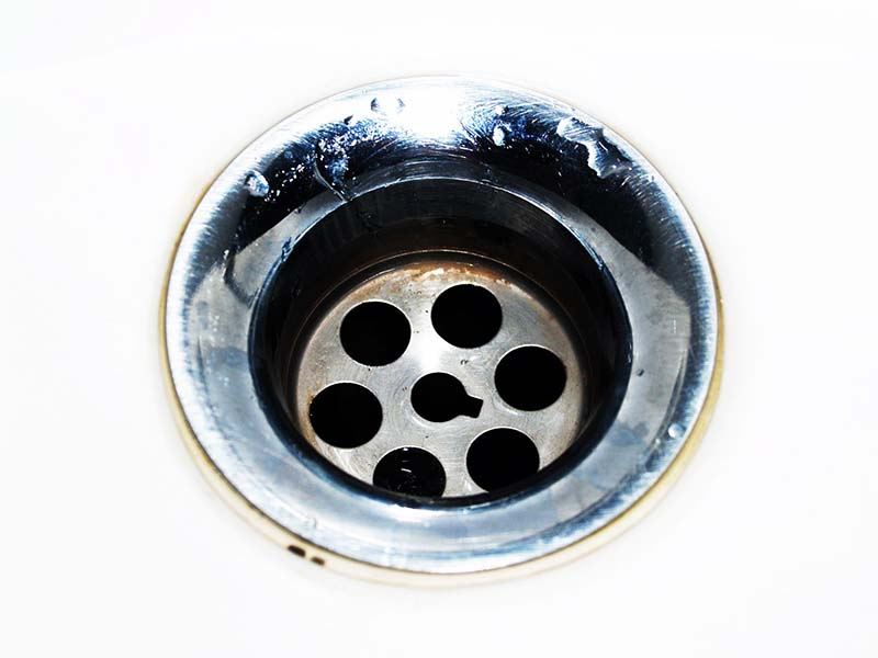 foul smell in the drain