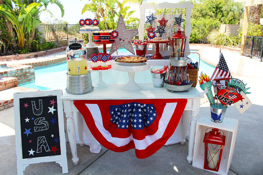 A barbecue will be a perfect opportunity to teach children about Memorial Day.