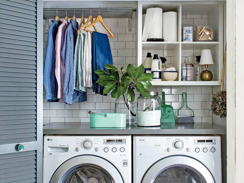10 Easy Ways To Keep Your Laundry Room Organized