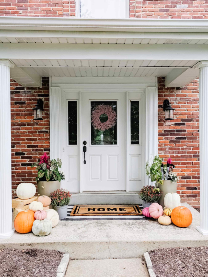 We'll be seeing a lot of pumpkins this season! Source: Arin Solange At Home