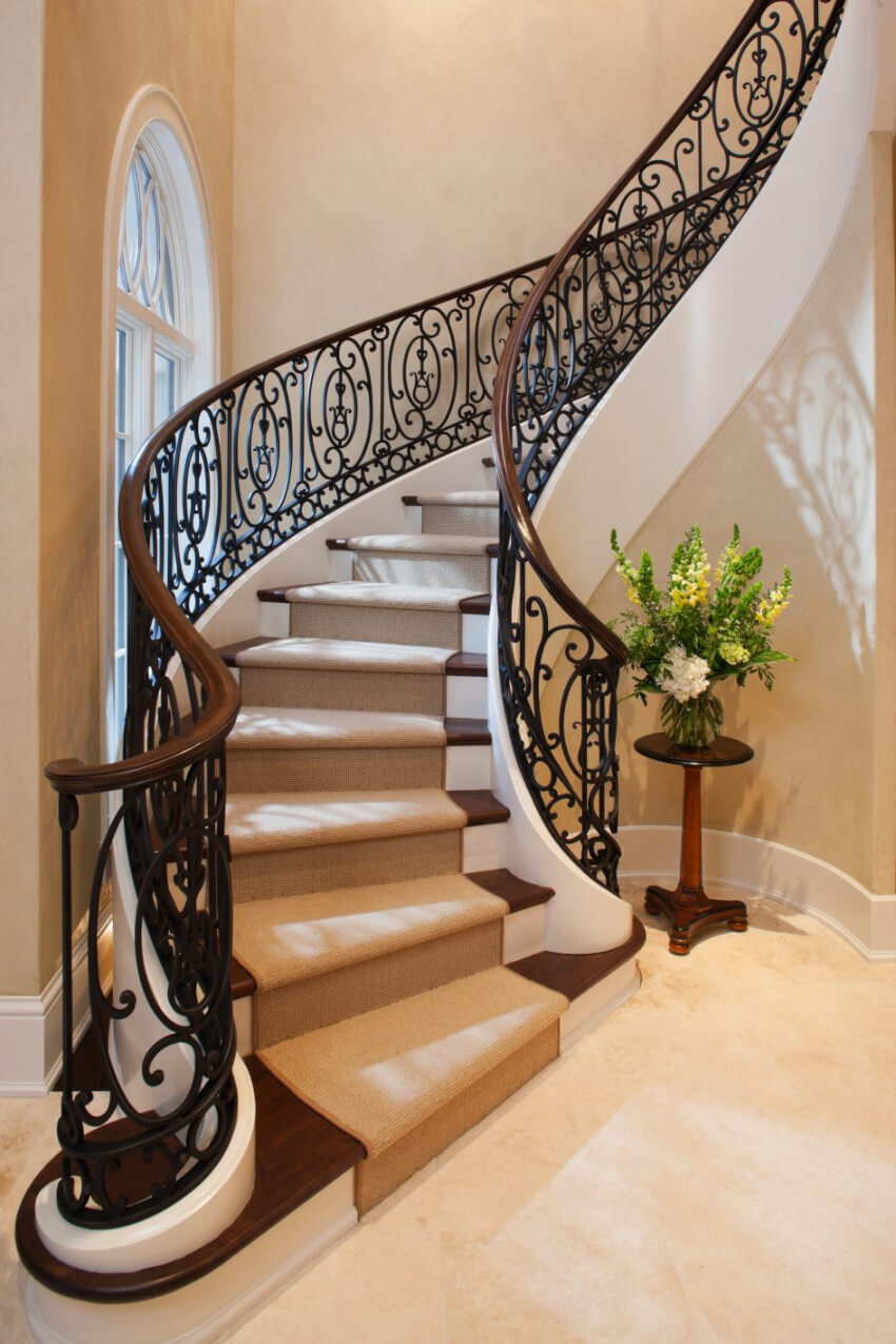 Staircases make an impact to your home design.