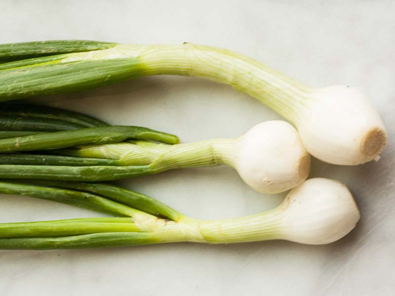Green onions compliment almost every dish.
