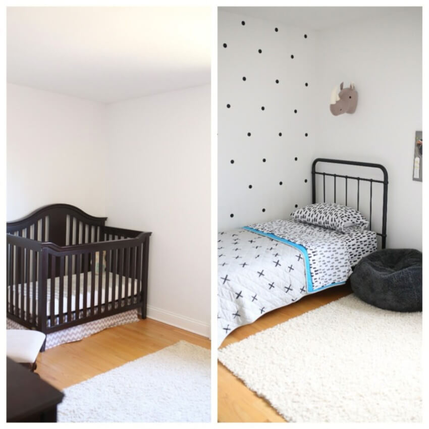 A simple transformation to create a new room.
