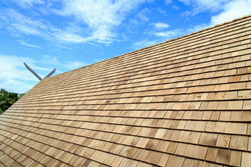 Wood shingles are some of the most beautiful. Source: Modernize