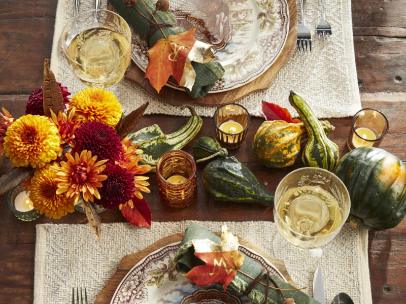 Top 10 Last-minute Thanksgiving House Decor Ideas