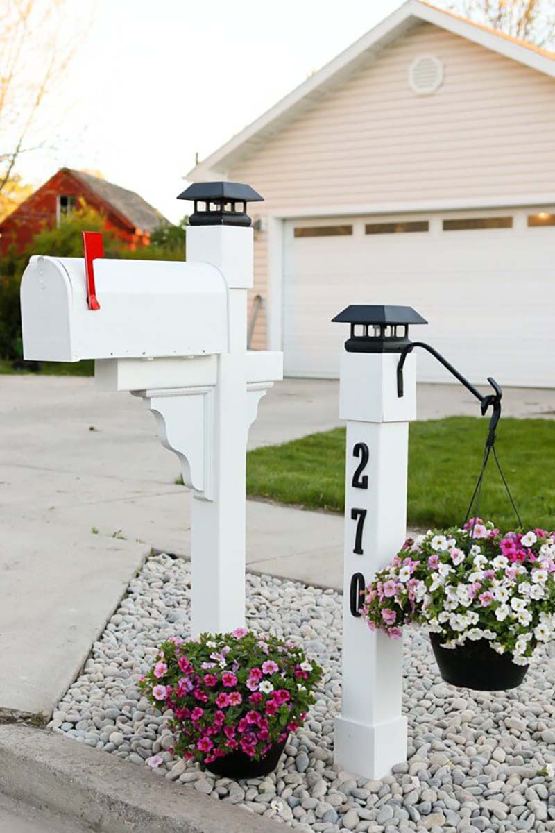 make your mailbox shine
