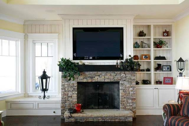 4 Pro Tips To Install a TV Above The Fireplace