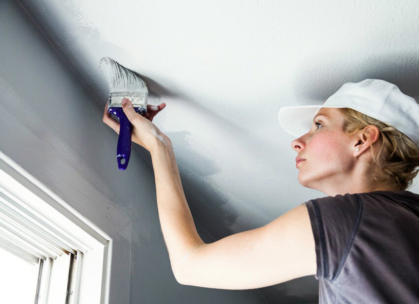 It's possible to save your ceiling from a wrong brush stroke.