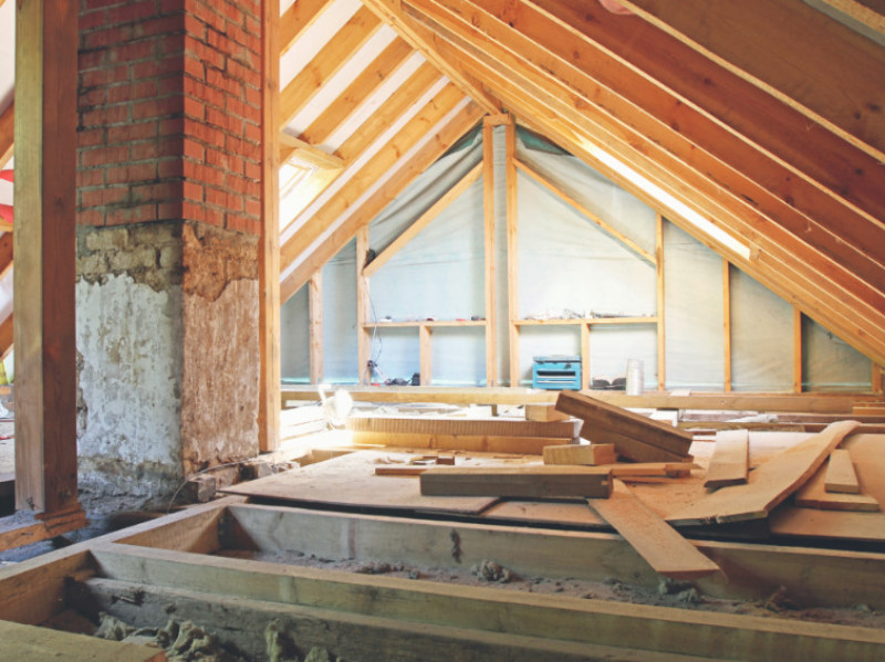 How To Transform Your Attic Into a Proper Room