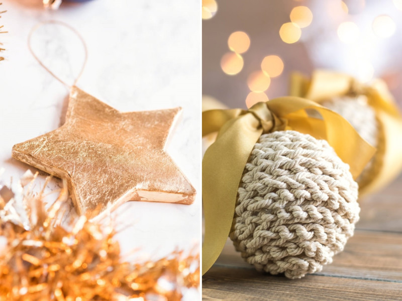10 Super Easy DIY Holiday Ornaments For Your Tree