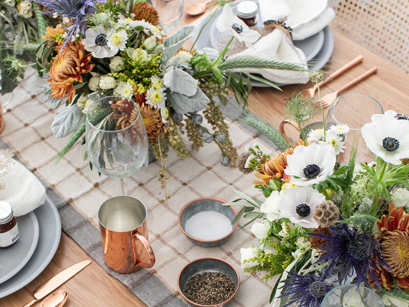 6 Beautiful Thanksgiving Centerpieces That Are Easy To Do