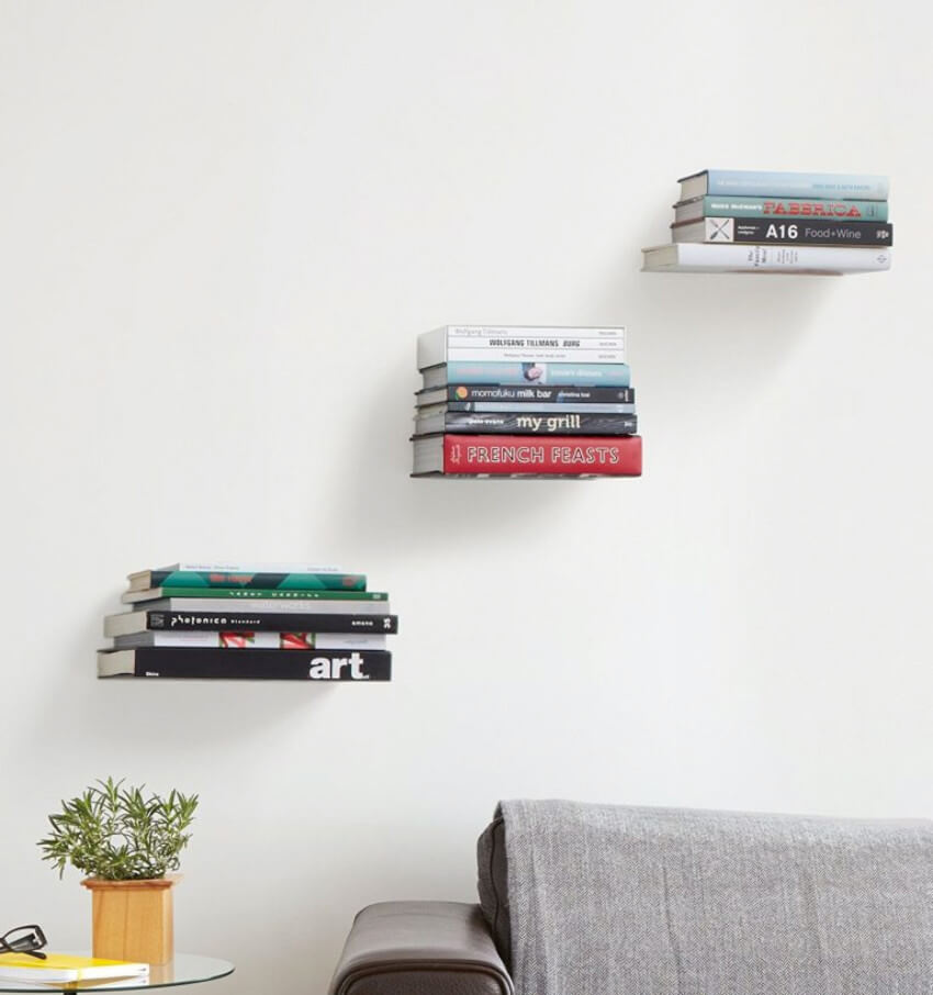 DIY these shelves at home and enjoy the view.
