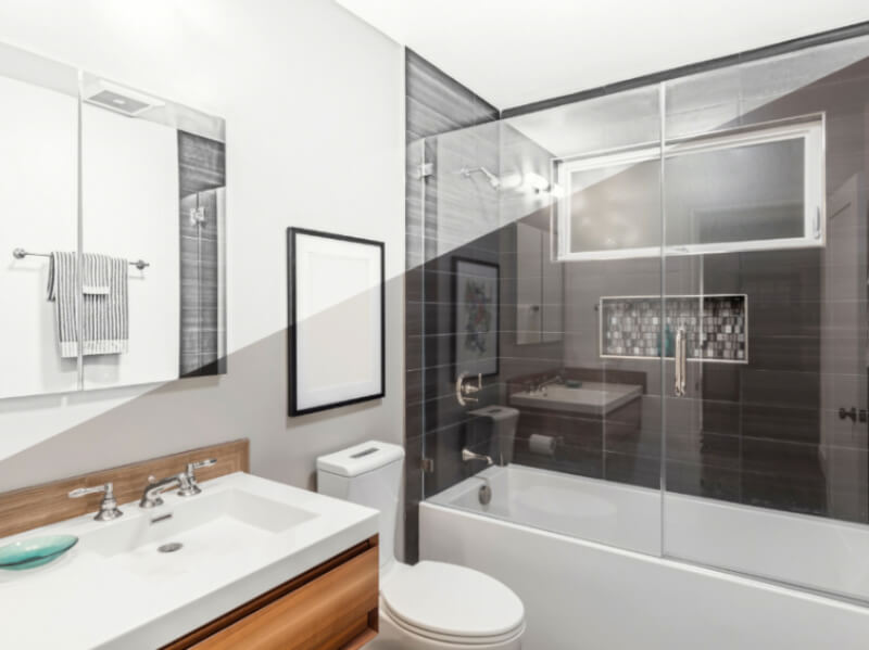 How a Glass Tub Enclosure Can Make Your Bathroom Even Better