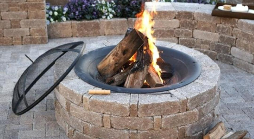 How to DIY: Fire Pit Construction