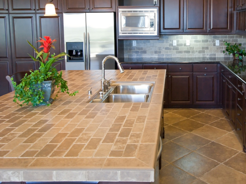 Tile Countertops: Pros, Cons, Maintenance and Cost