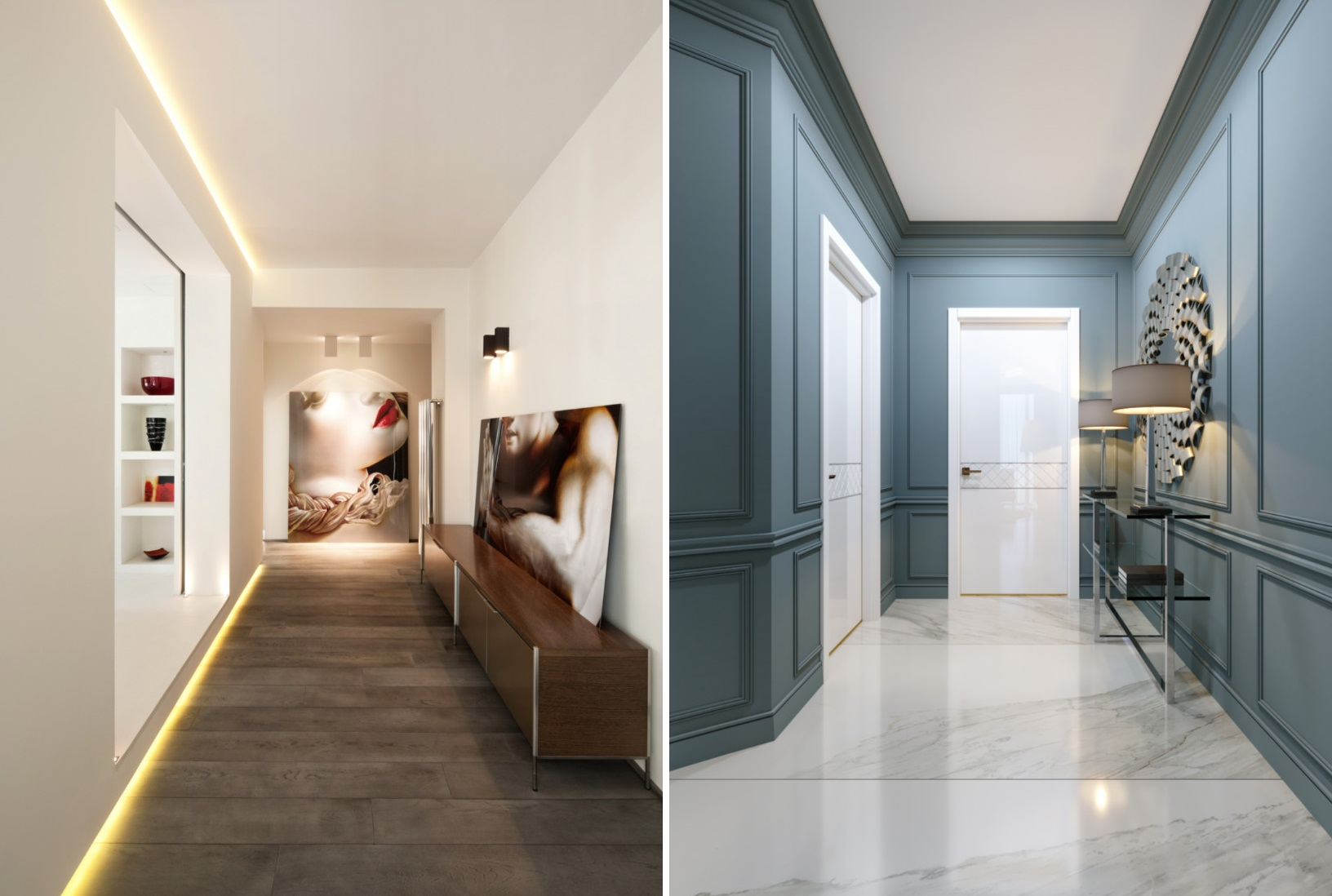 10 Hallway Lighting Ideas To Make Any Windowless Space Brighter