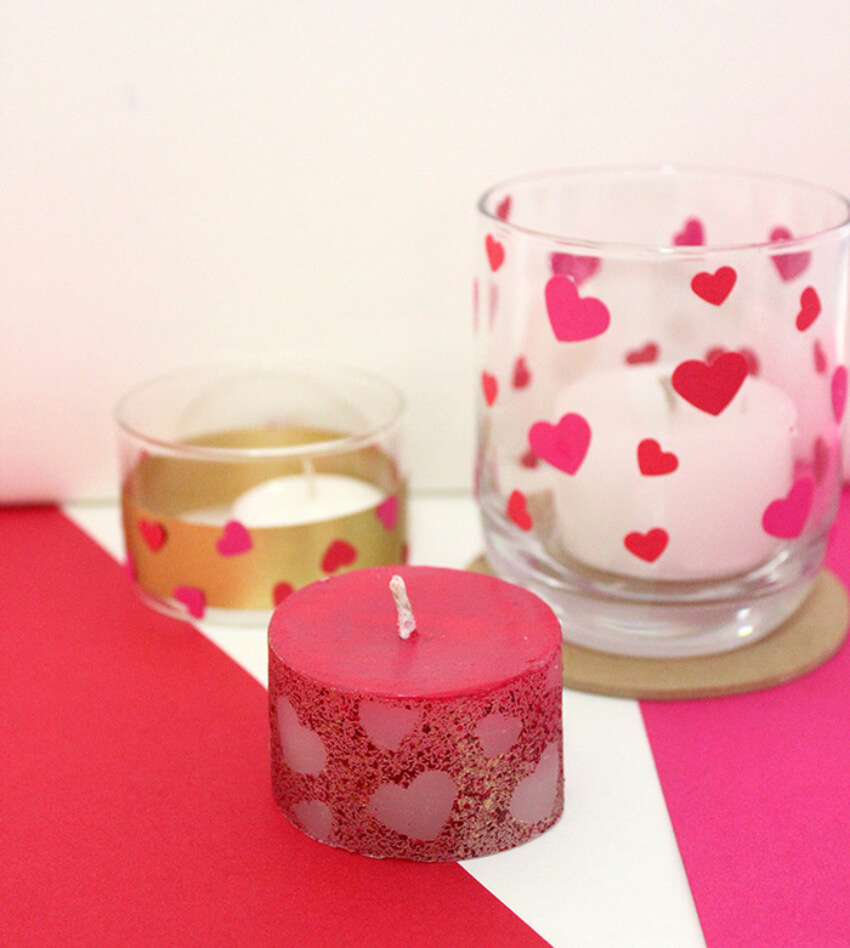 No Valentine's Day dinner is complete without candles! Source: Craftables