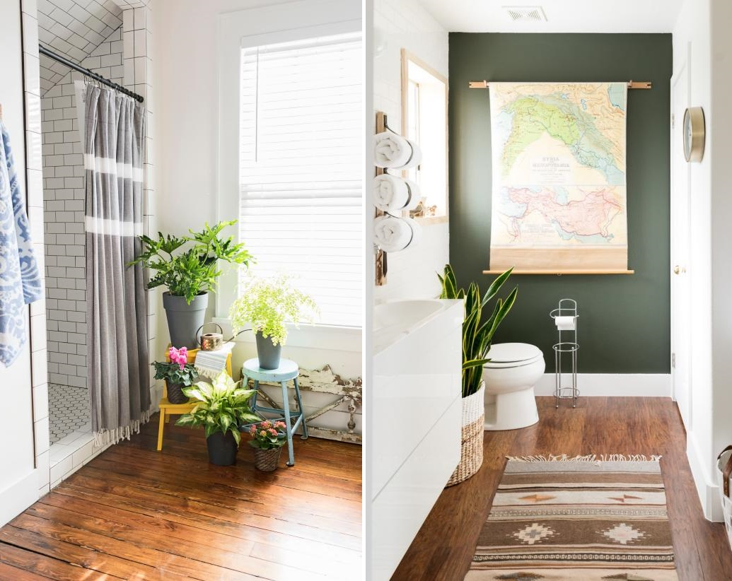 Houseplants are always great additions. Source: HGTV