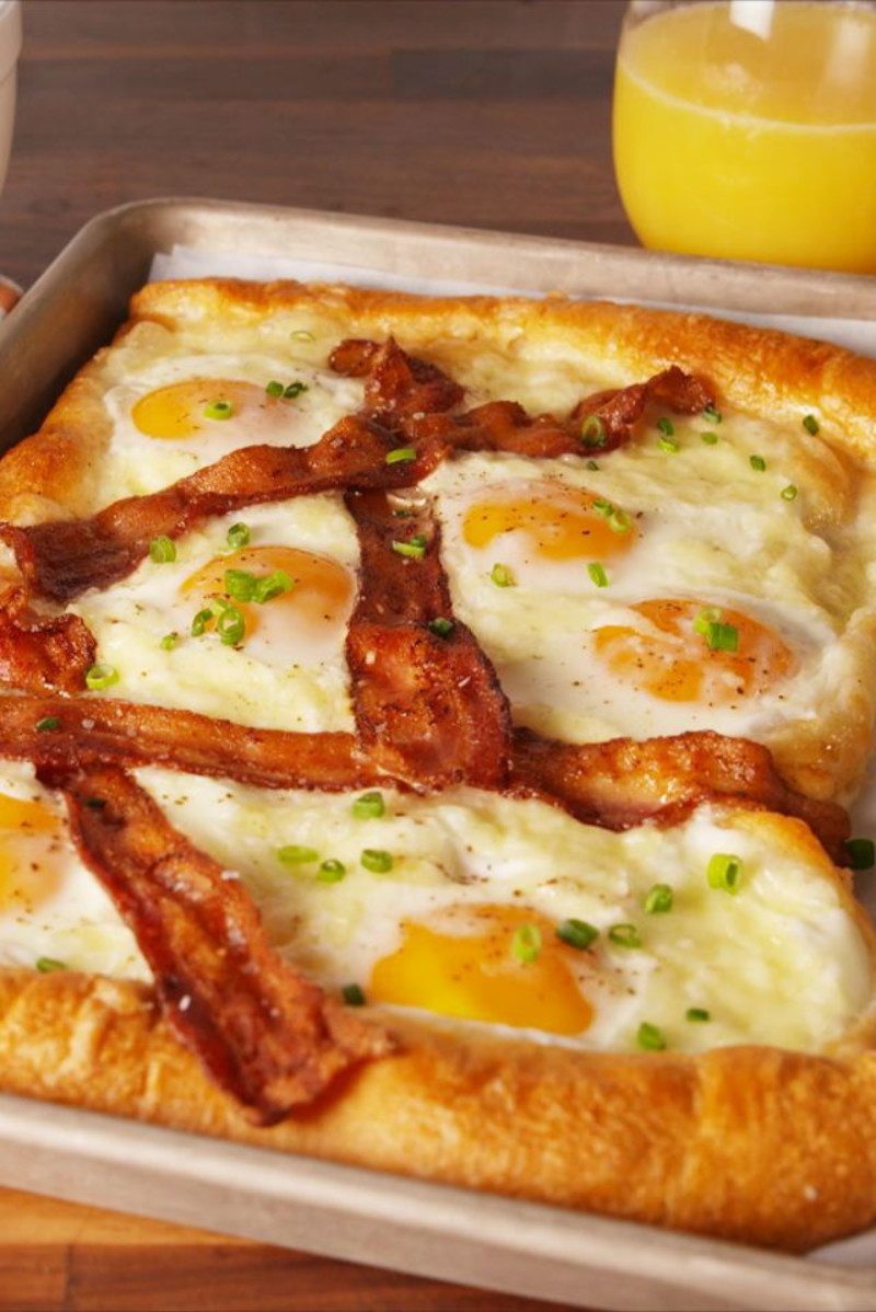 An irresistible idea for brunch. Source: Delish
