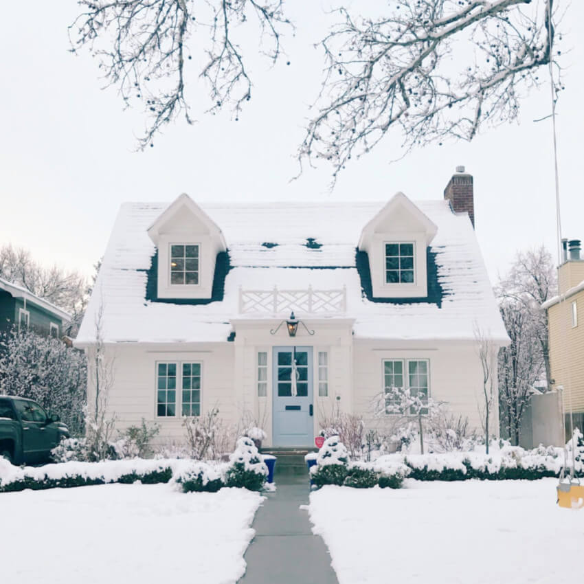Winter can cause serious damage to your house exterior.