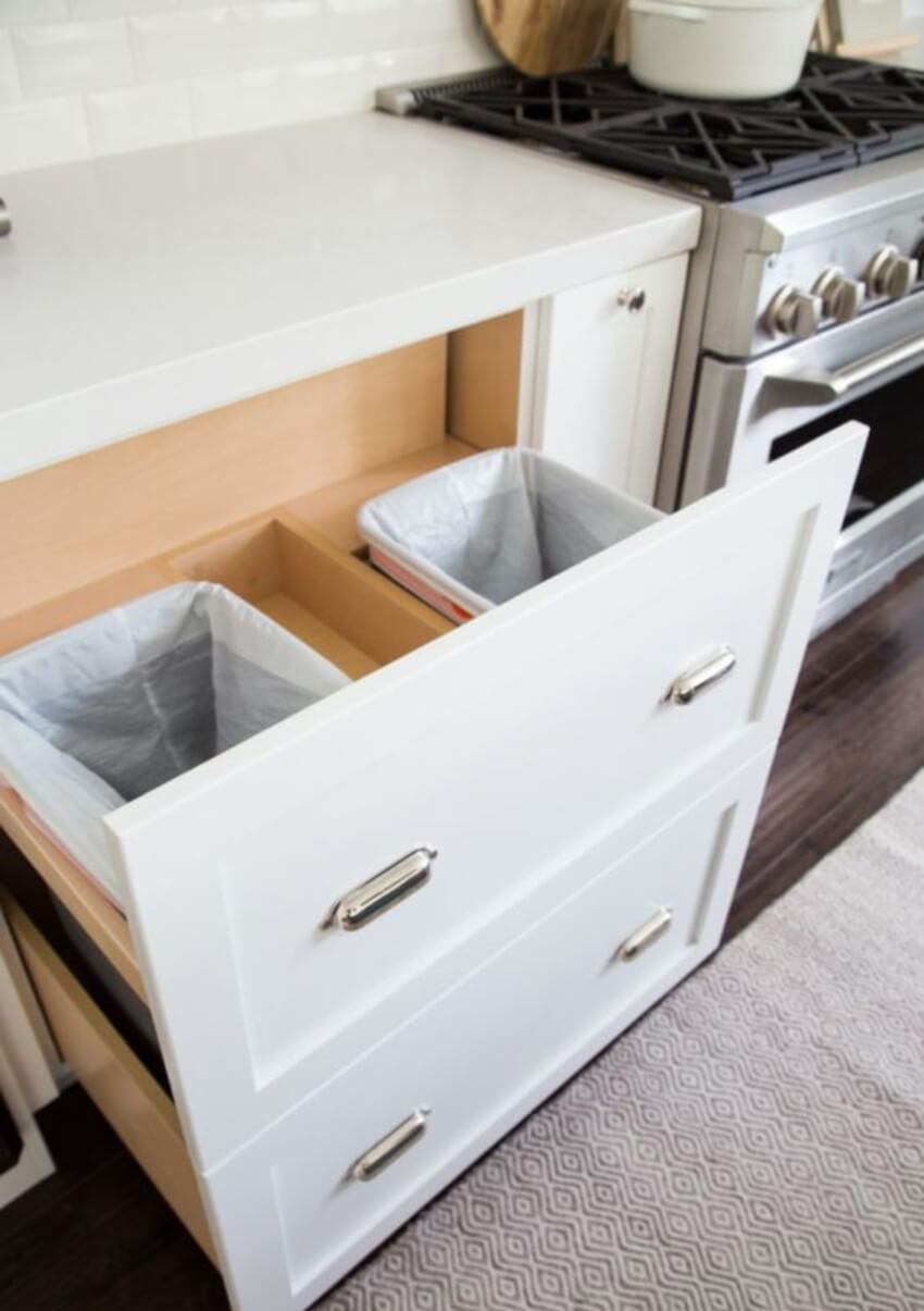 Forget smelly kitchens, this cabinet will make life better!