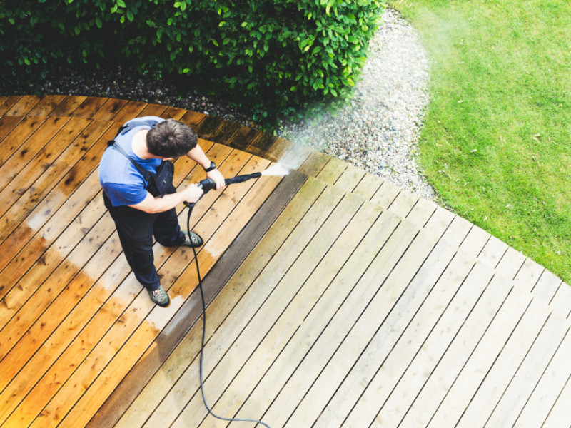 How To Power Wash Your Deck The Right Way