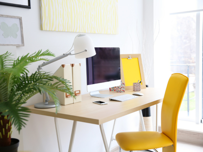 10 Quick Tips To Create The Perfect Home Office