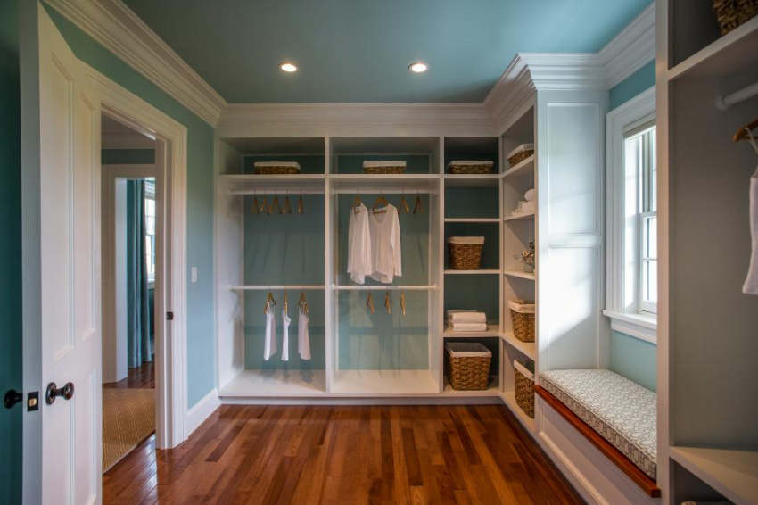 Make sure your closet, attic and other closed spaces have good air circulation. Source: HGTV