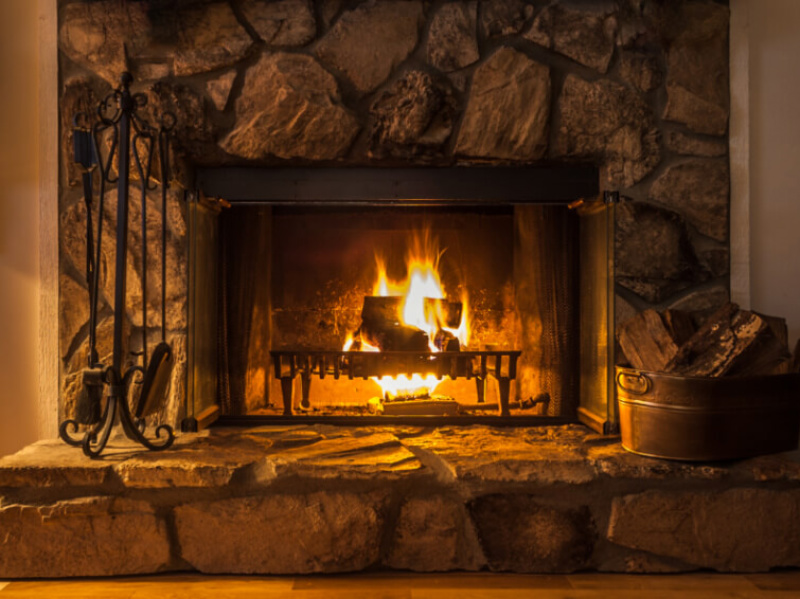 Here's What To Do If Your Fireplace Is Smoking Up The House