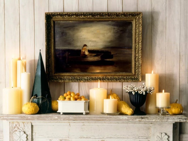 10 Beautiful Ways To Decorate Your Fireplace Mantle