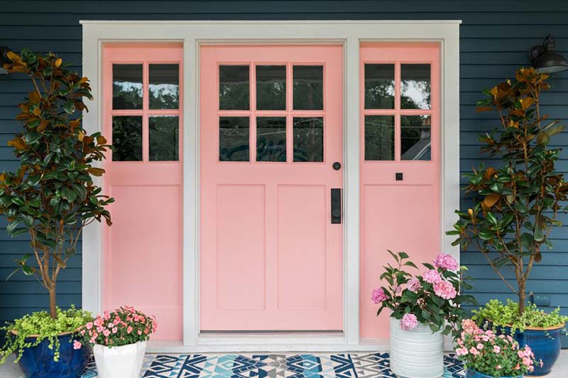 glam the front door