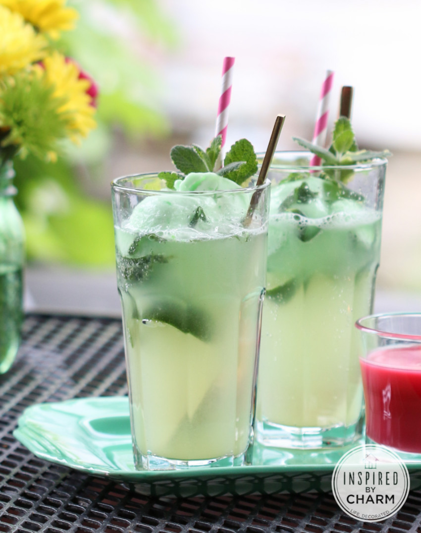 A refreshing drink everyone can enjoy! Source: Inspired By Charm