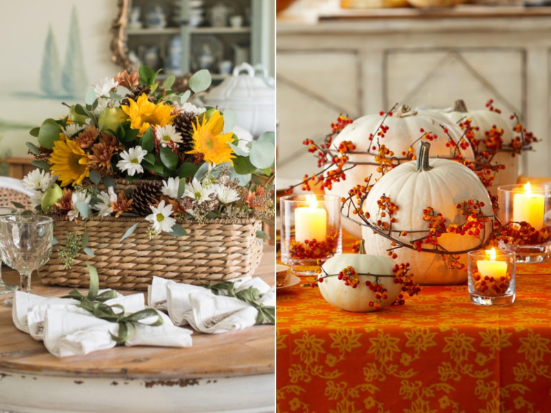 10 Gorgeous Thanksgiving Centerpieces Ideas For All Tastes