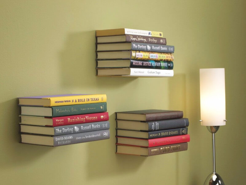 How to DIY the Floating Bookshelf People Are Totally Obsessed with