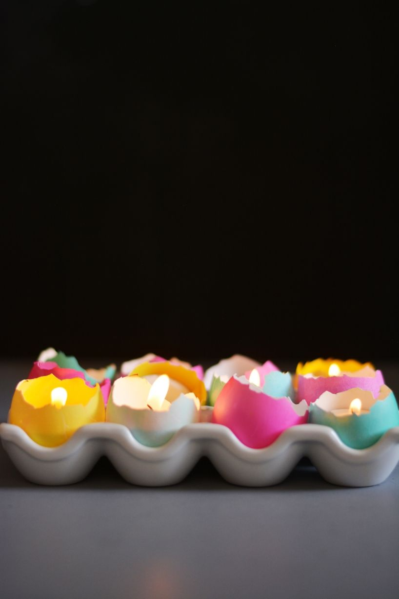 Light your home with cute tea lights! Source: Little Inspiration