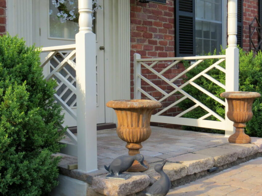 Chippendale is a common type of railing you will love to have.