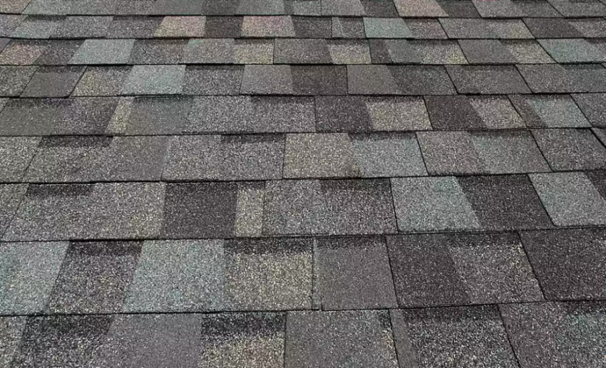 Asphalt shingles are the most common roofing type. Source: The Spruce