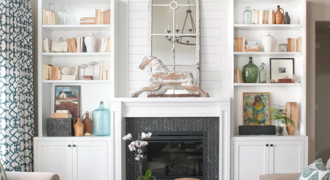 8 Beautiful Tile Ideas For Your Fireplace Surround