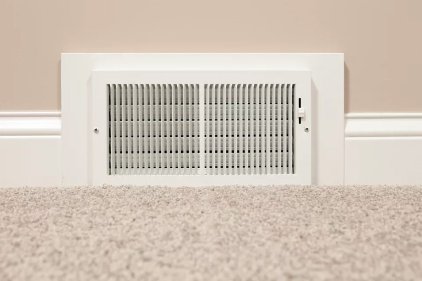Regular maintenance is essential to make sure your heating system is working. Source: The Spruce