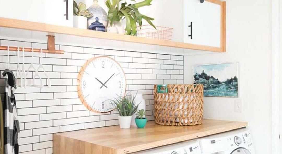 5 Easy Ways To Make Your Laundry Room More Fun (and Useful!)