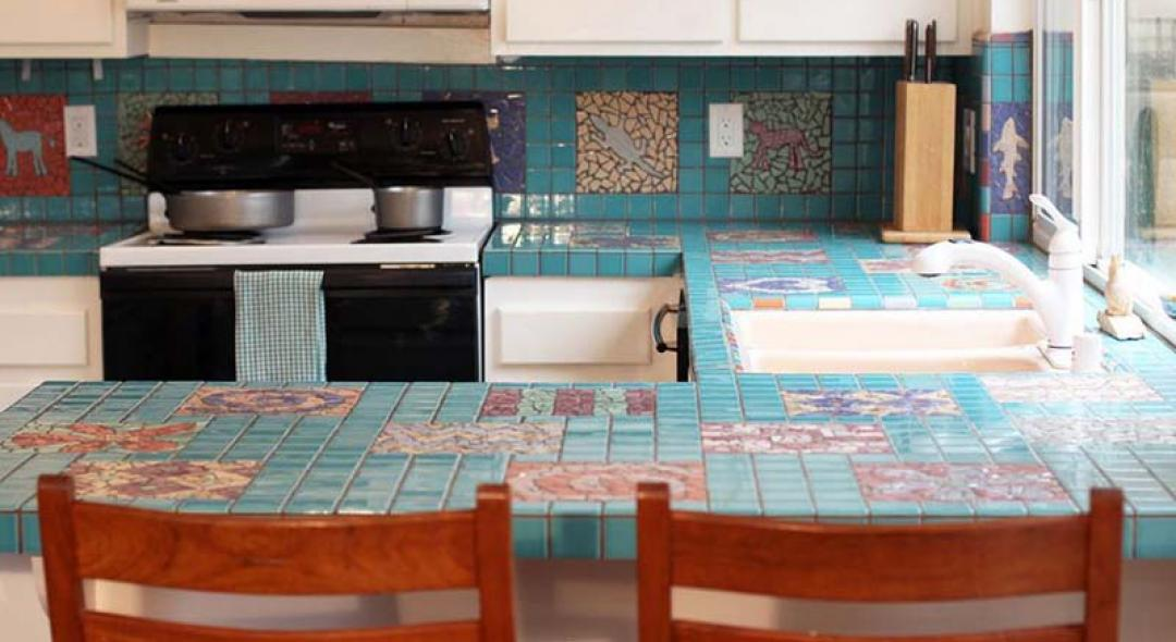 Here's Everything You Should Know About Tile Countertops