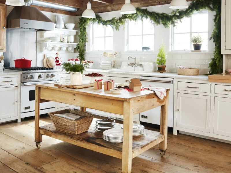 5 Ways to Bring The Farmhouse Style Into Your Kitchen