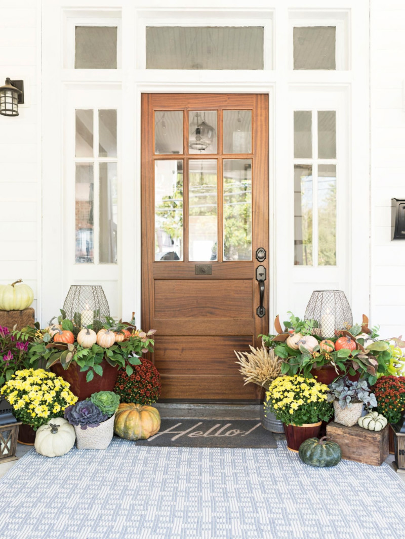 The front porch is the face of your home! Source: HGTV