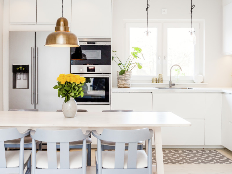 6 Clever Changes That Will Make Your Kitchen Look Bigger