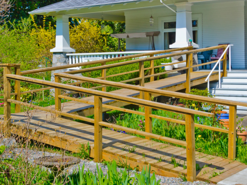 What to Consider Before Installing an Outdoor Wheelchair Ramp