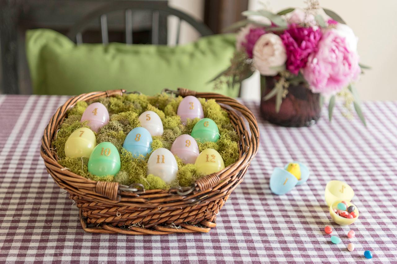 Create a calendar for this Easter! Source: HGTV