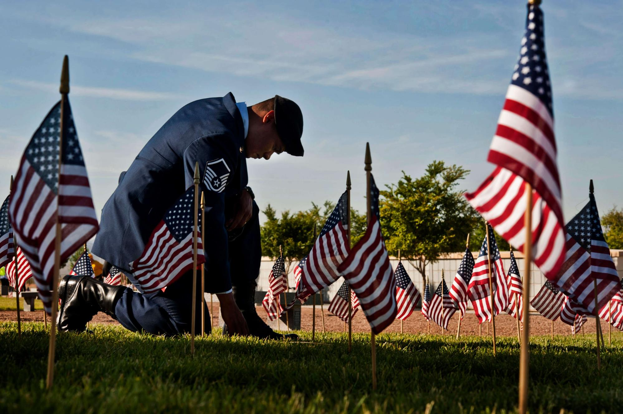 Honor those we lost by helping their families. Source: US Air Force Academy