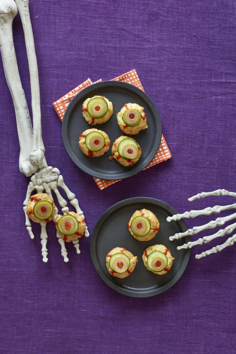These pastry buffs got a scary makeover. Source: Woman's Day